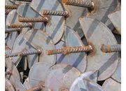 Ancre à hélice tige fer à béton hélice 250 mm